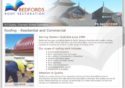 Bedfords Roof Restoration